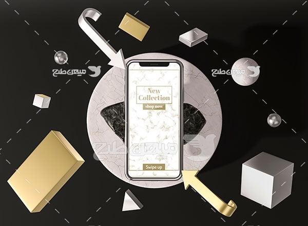 موکاپ تلفن همراه