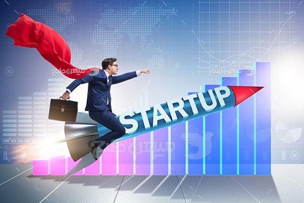 عکس تبلیغاتی کارآفرینی و رشد و توسعه