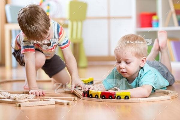 عکس تبلیغاتیبازی کودکانه