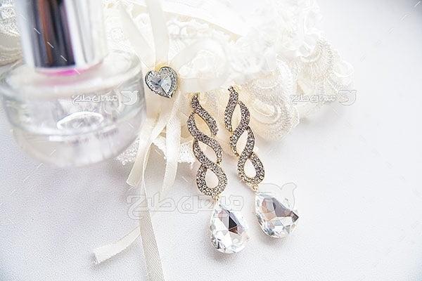 عکس تبلیغاتی جواهرزیورآلات الماس