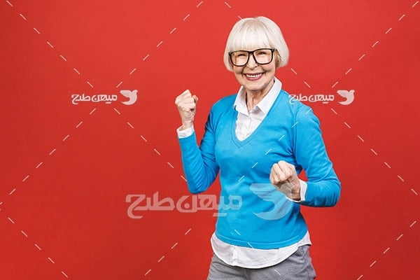 عکس زن مسن