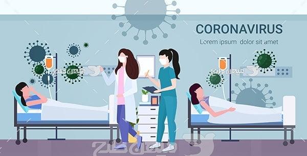 وکتور بیماران مبتلا به کرونا