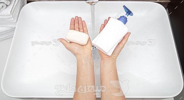 عکس مایع دستشویی