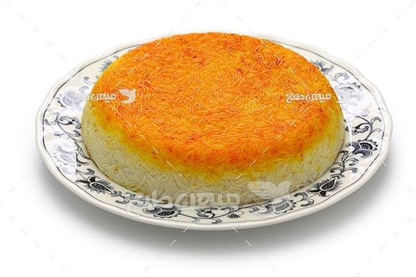 عکس ته دیگ برنج