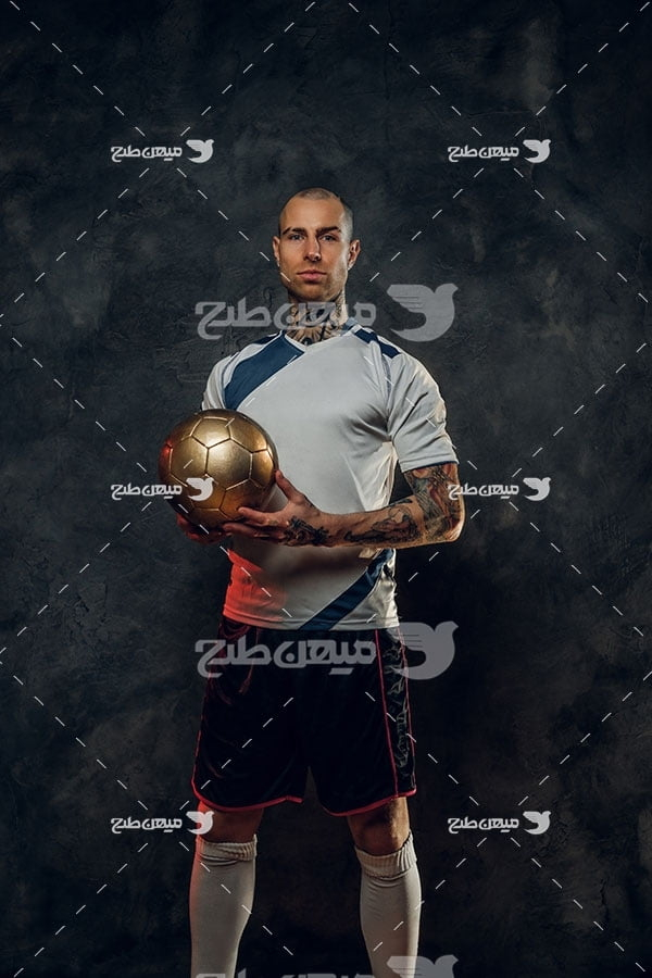 عکس فوتبالیست