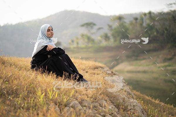 عکس زن روستایی