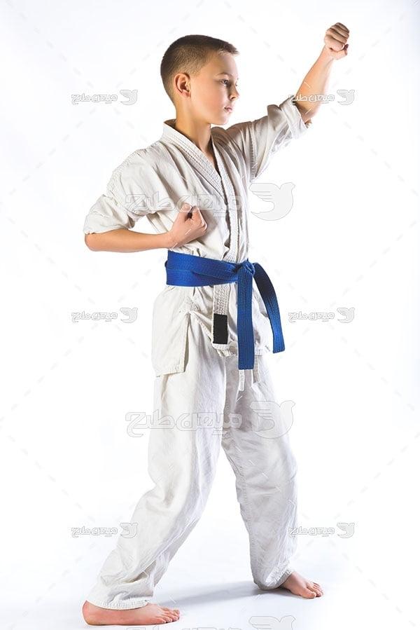 عکس تمرین کاراته
