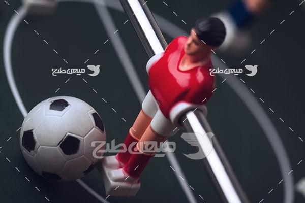 عکس بازی فوتبال دستی