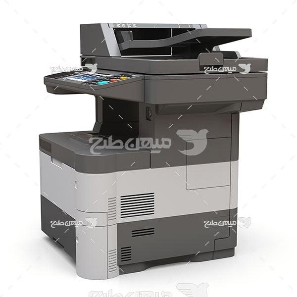 عکس دستگاه کپی لیزری