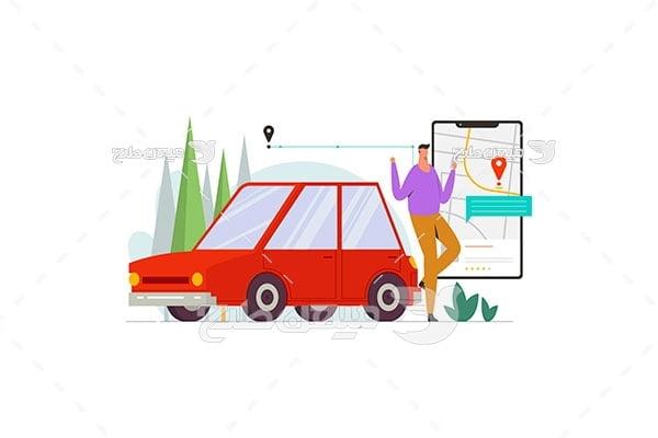وکتور اسنپ خودرو