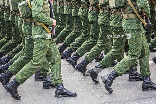 عکس رژه نظامی