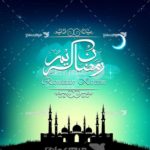وکتور عبادت در ماه رمضان