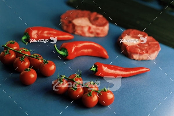 عکس گوشت استیک