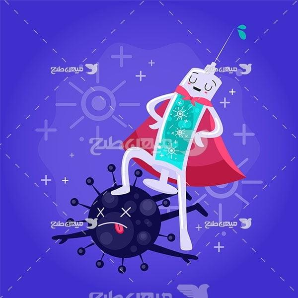 وکتور واکسن ویروس کرونا
