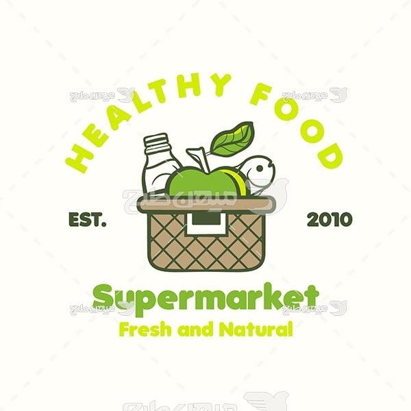 لوگو و آیکن سوپر مارکت