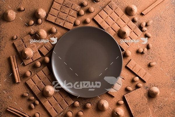 عکس پخت شیرینی و شکلات