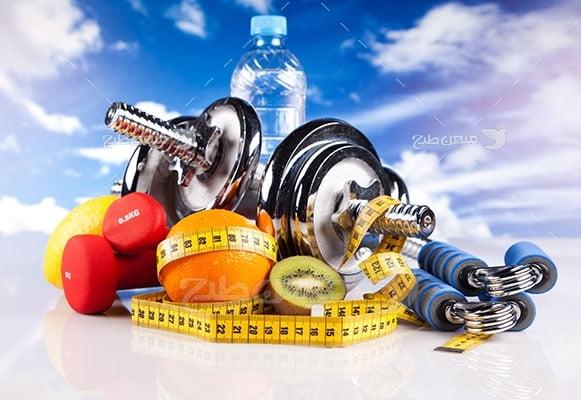 عکس تبلیغاتی ورزش و سلامتی بدن