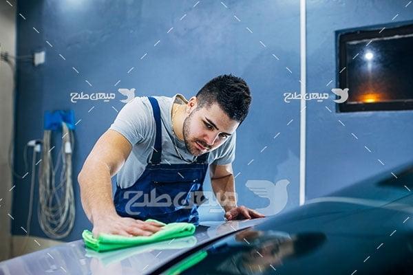 عکس صافکار و نقاشی خودرو
