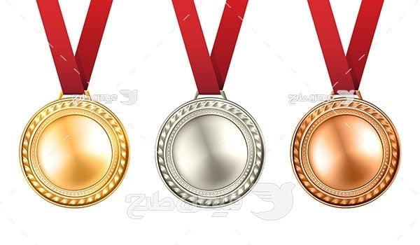 وکتور مدال ورزشی