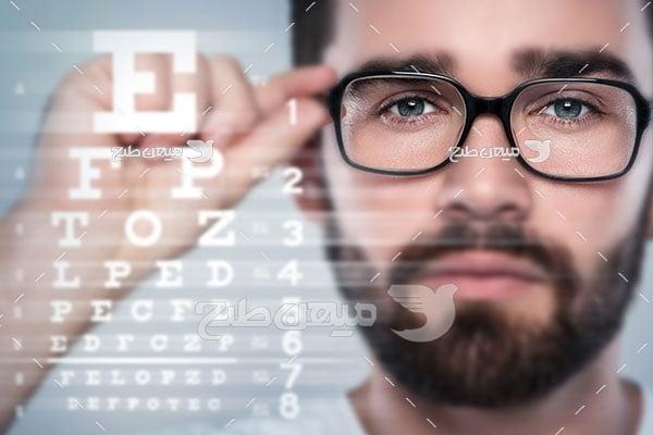 عکس عینک طبی