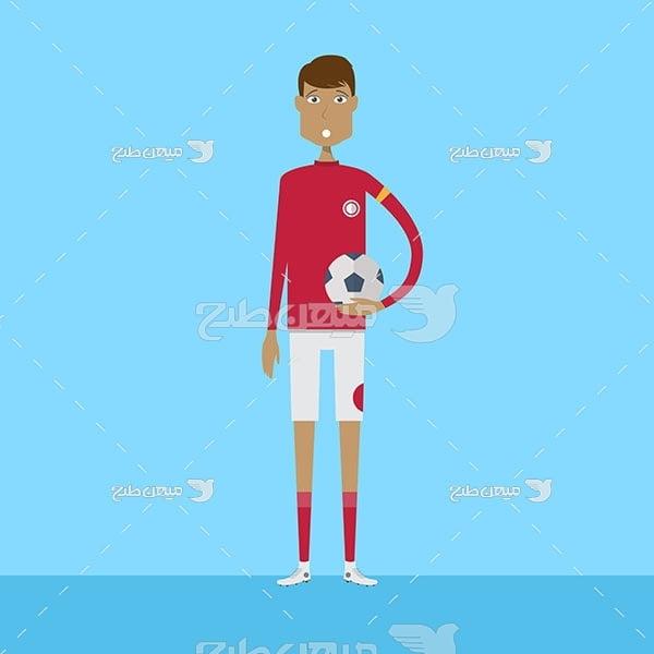 وکتور فوتبالیست