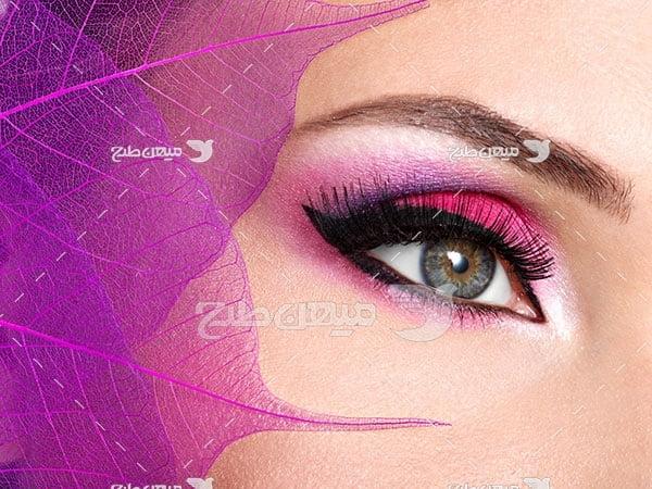 عکس آرایش سایه چشم