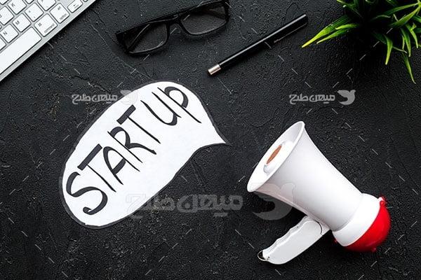 عکس تبلیغاتی کارآفرینی و رهبری