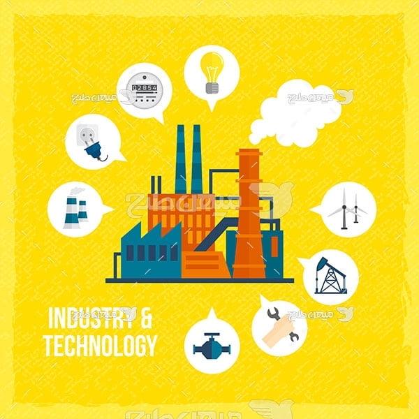 وکتور نیروگاه تولید برق