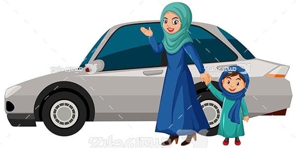 وکتور خودرو سواری