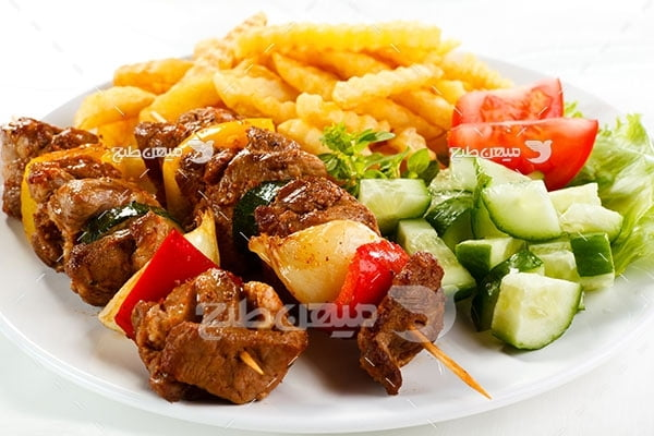 عکس تبلیغاتی غذا کباب