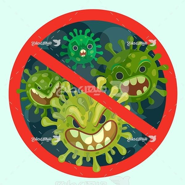 وکتور کرونا ویروس
