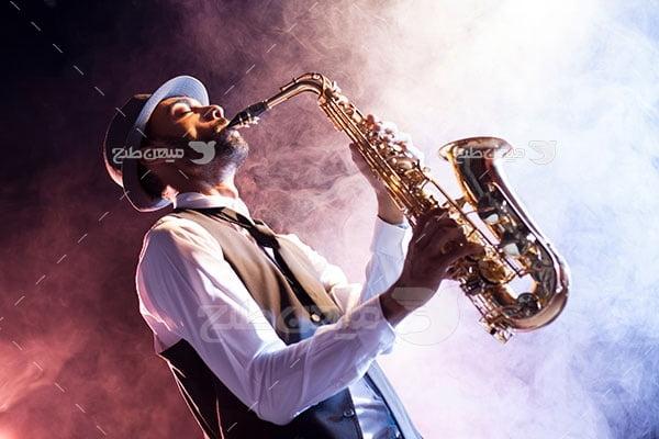 عکس تبلیغاتی موسیقی و نوازندگی