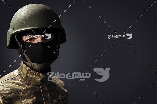 عکس سرباز نقاب دار