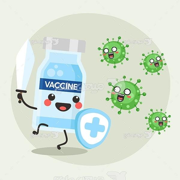 وکتور دارو درمان کرونا ویروس
