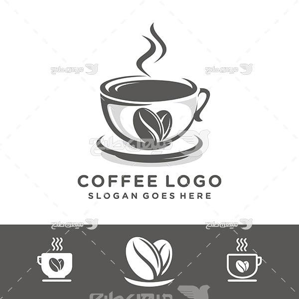 لوگو و آیکن کافی و قهوه