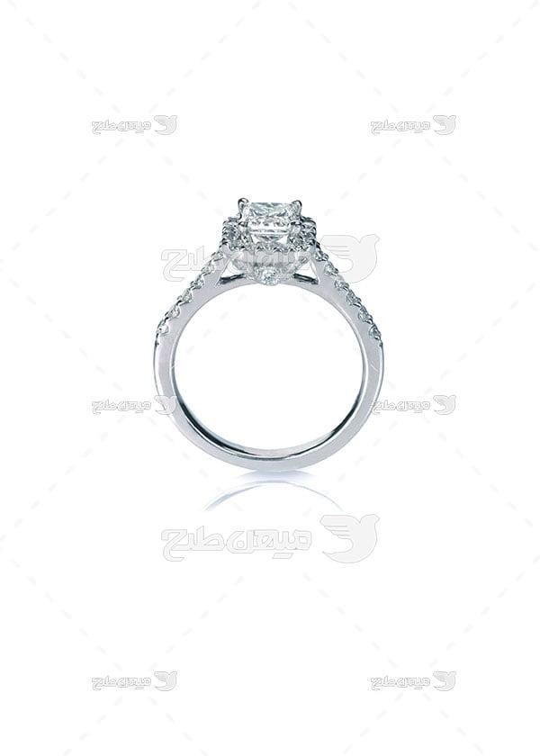 عکس تبلیغاتیانگشتر الماس ظریف