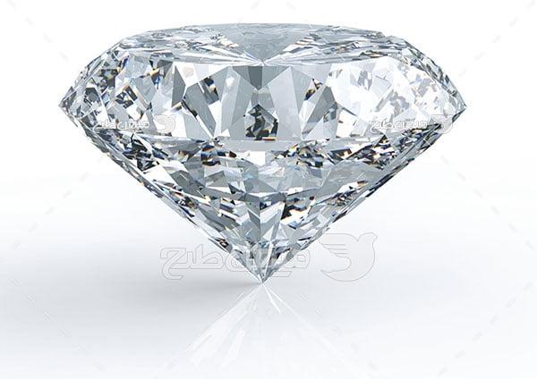 عکس تبلیغاتی الماس برش خورده