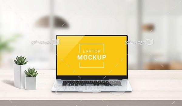 موکاپ لپ تاپ
