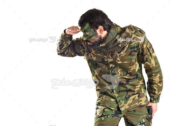 عکس سرباز نظامی