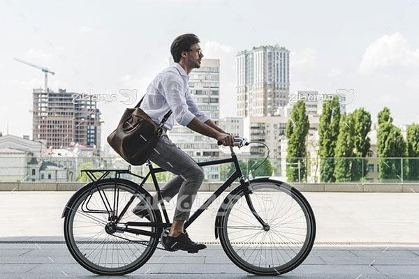 عکس دوچرخه شهری