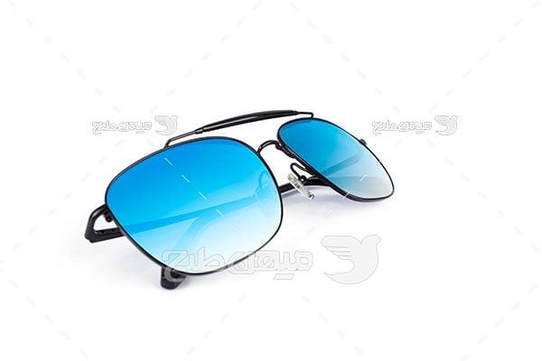 عکس عینک طبی شیشه رنگی