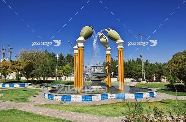 عکس چشمه میبد یزد