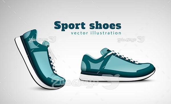 وکتور کفش ورزشی
