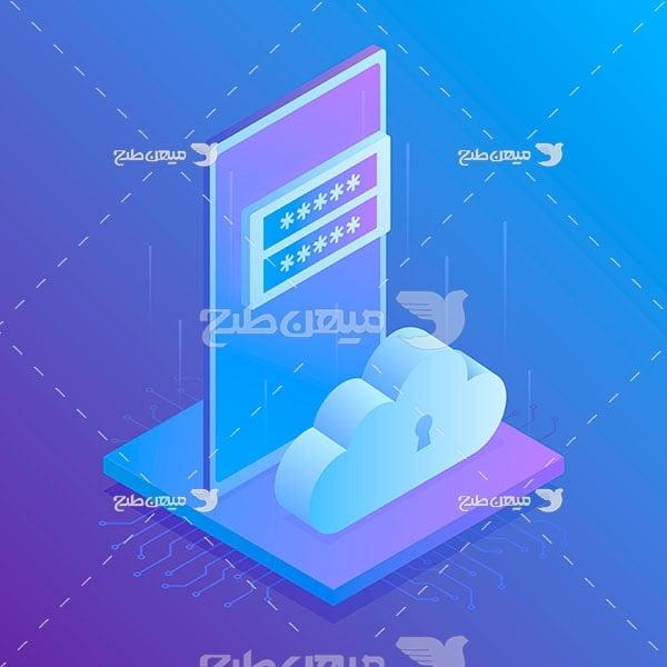 وکتور کاراکتر رمزنگاری