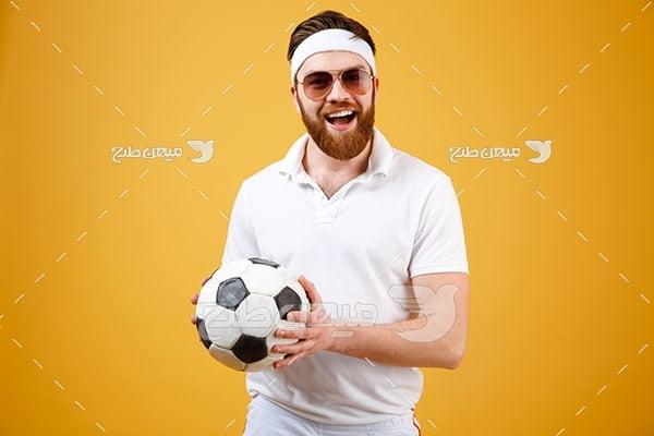 عکس بازیکن فوتبال