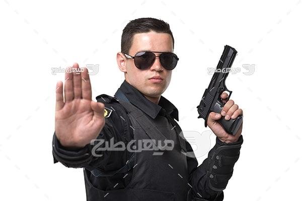 عکس پلیس امنیتی