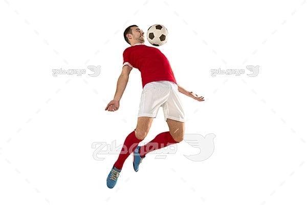 عکس حرکت فوتبالی