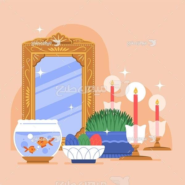 وکتور هفت سین عید باستانی