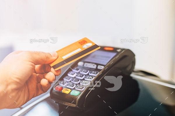 عکس پرداخت با پوز