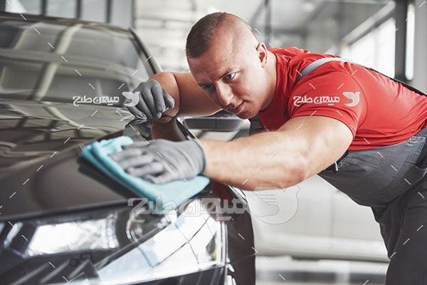 عکس سرویس شستشوی خودرو